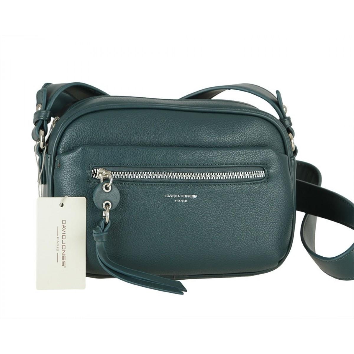 Жіноча сумка David Jones 6418-1 PEACOCK BLUE