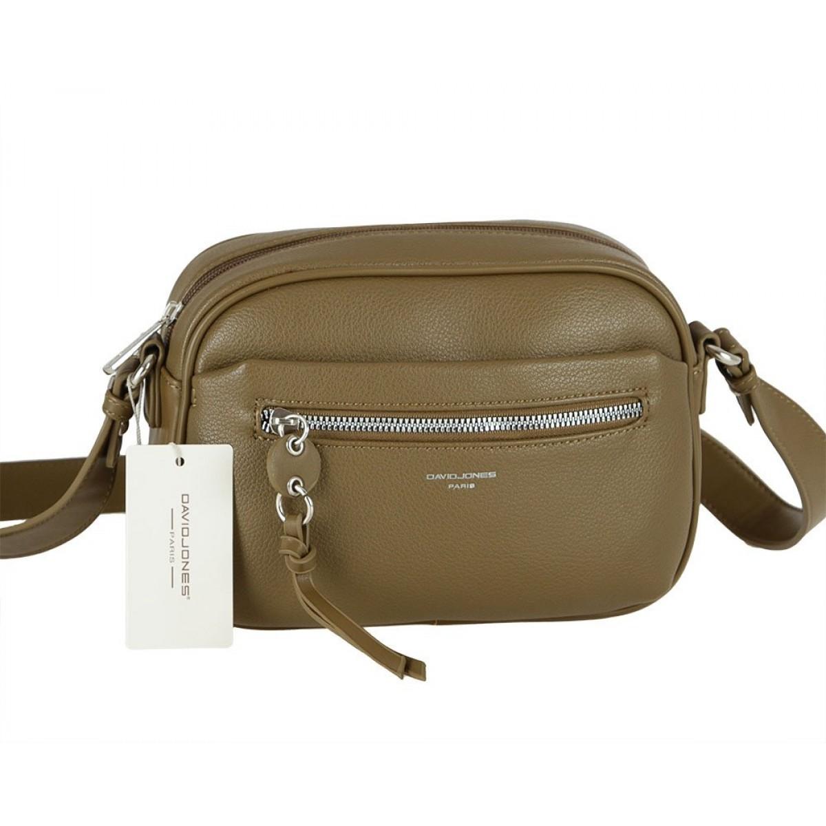 Жіноча сумка David Jones 6418-1 VERT