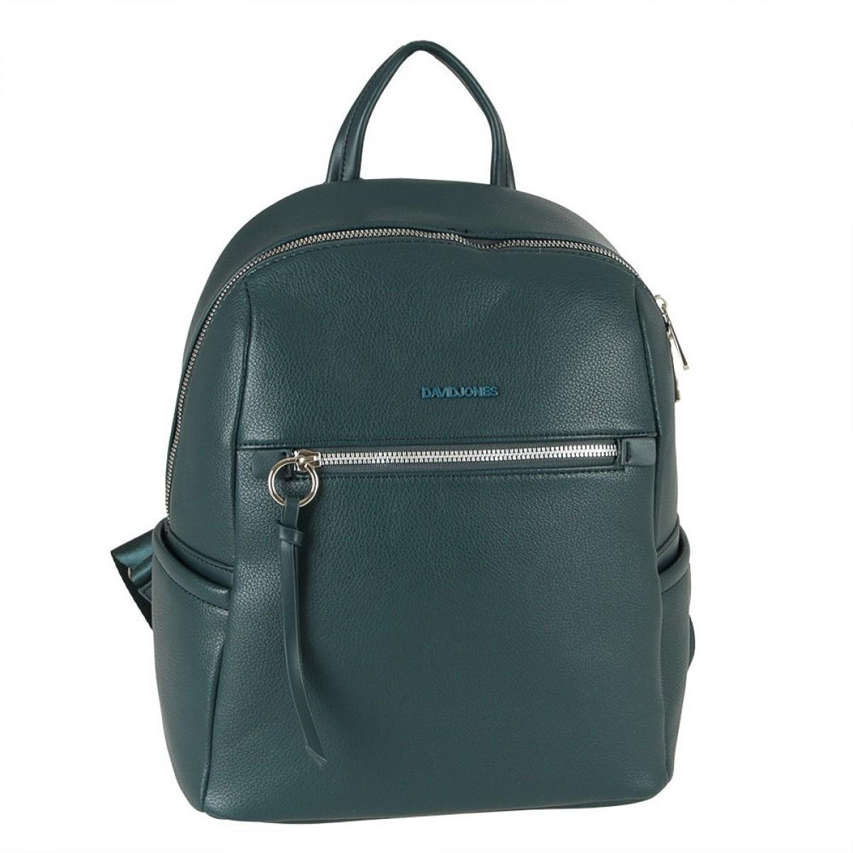 Жіночий рюкзак David Jones 6422-2 PEACOCK BLUE