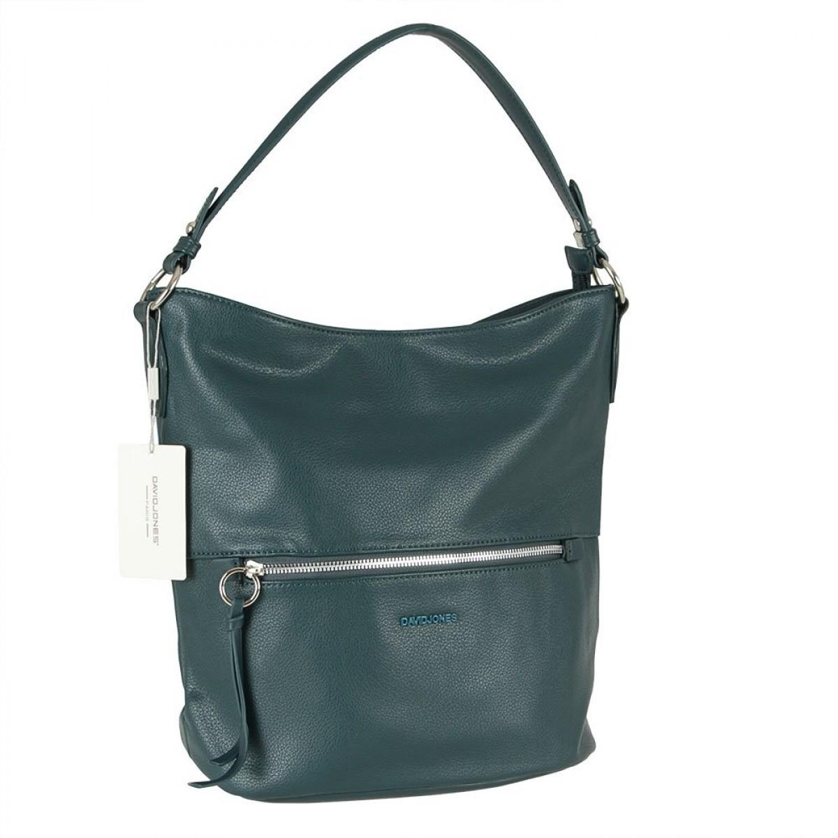Жіноча сумка David Jones 6422-1 PEACOCK BLUE