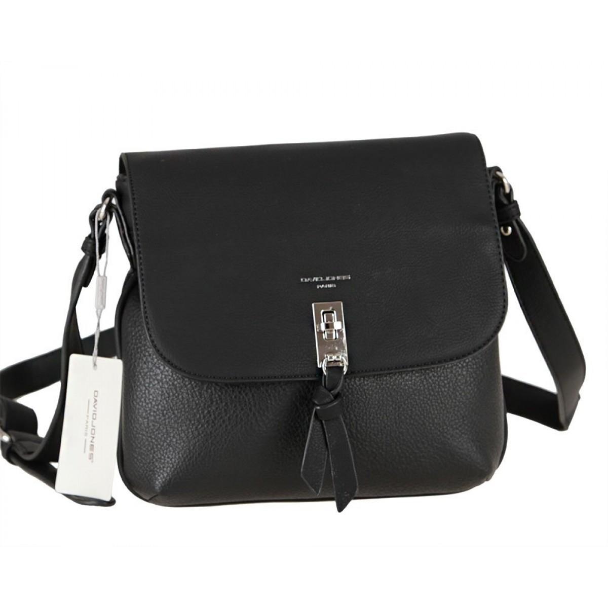 Жіноча сумка David Jones 6425-1 BLACK