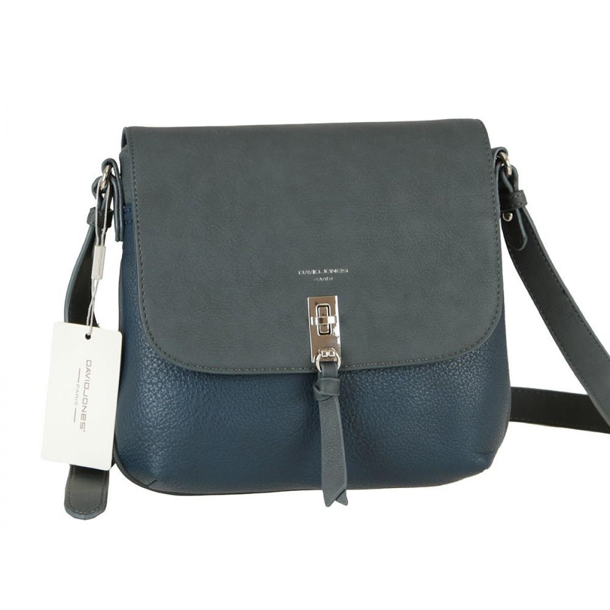 Жіноча сумка David Jones 6425-1 D.BLUE