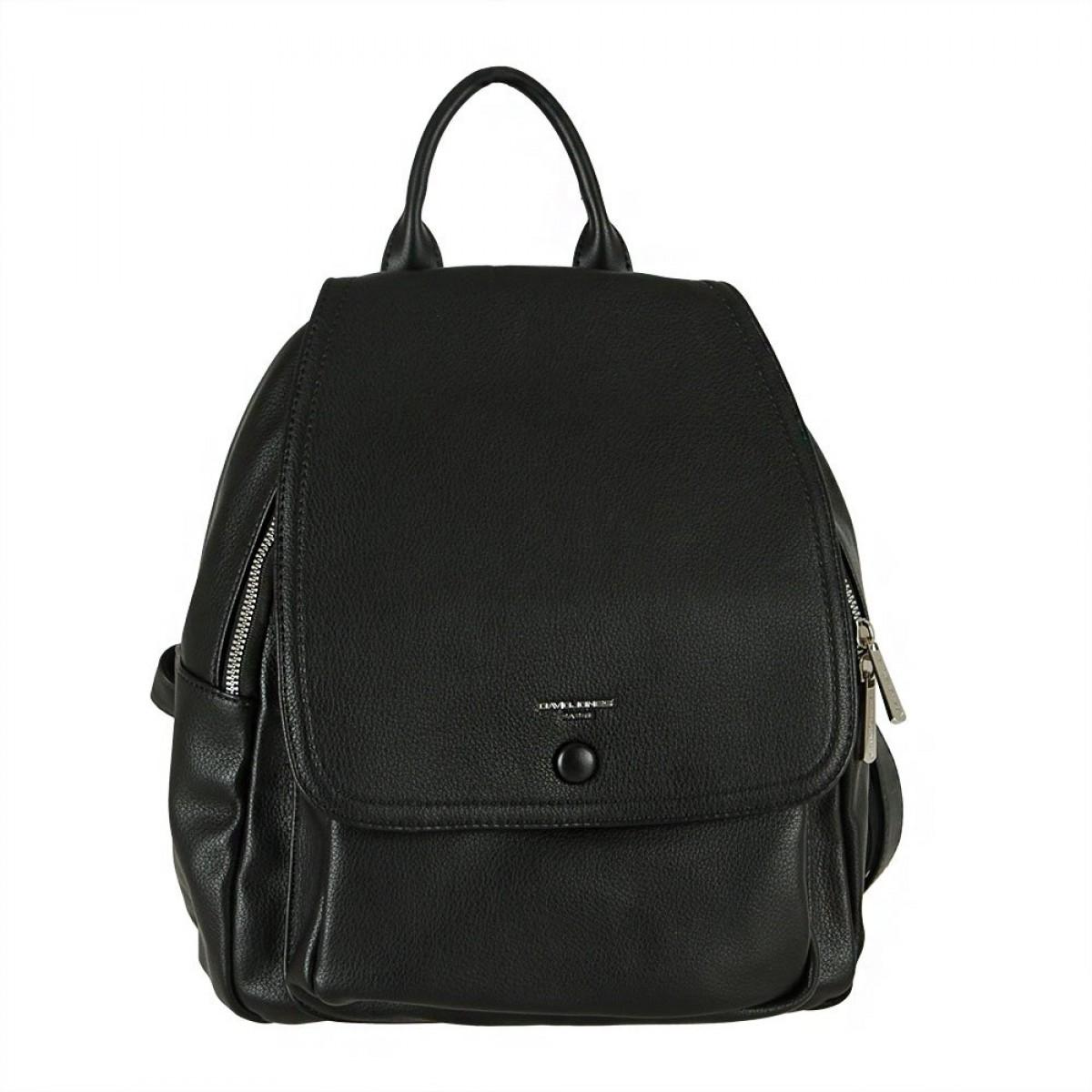 Жіночий рюкзак David Jones 6428-2 BLACK