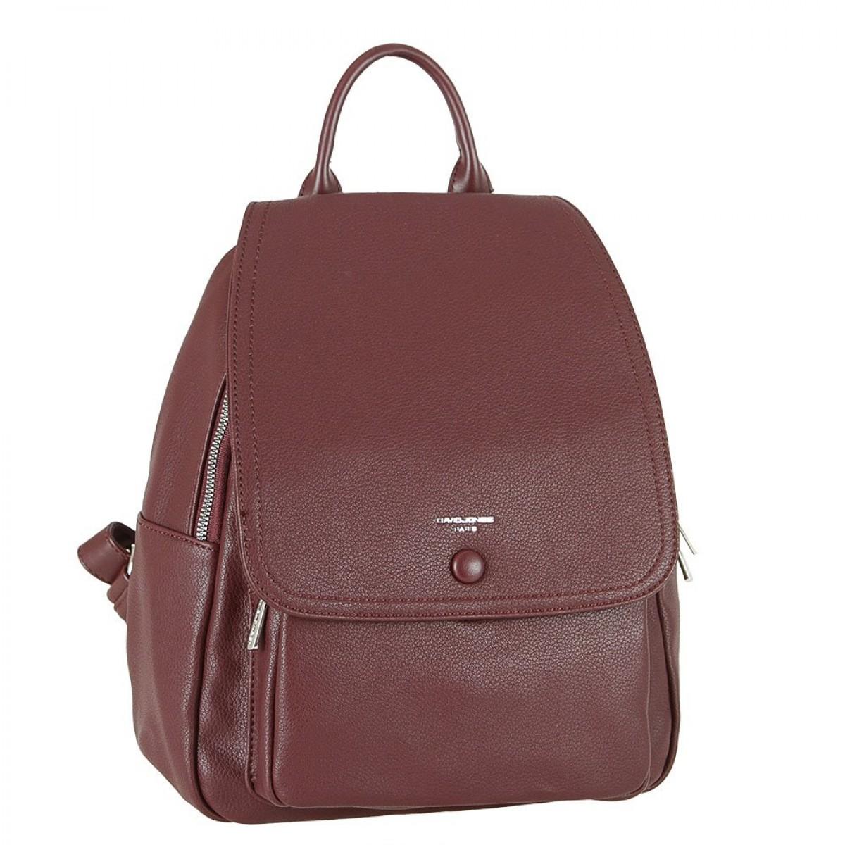 Жіночий рюкзак David Jones 6428-2 DARK BORDEAUX