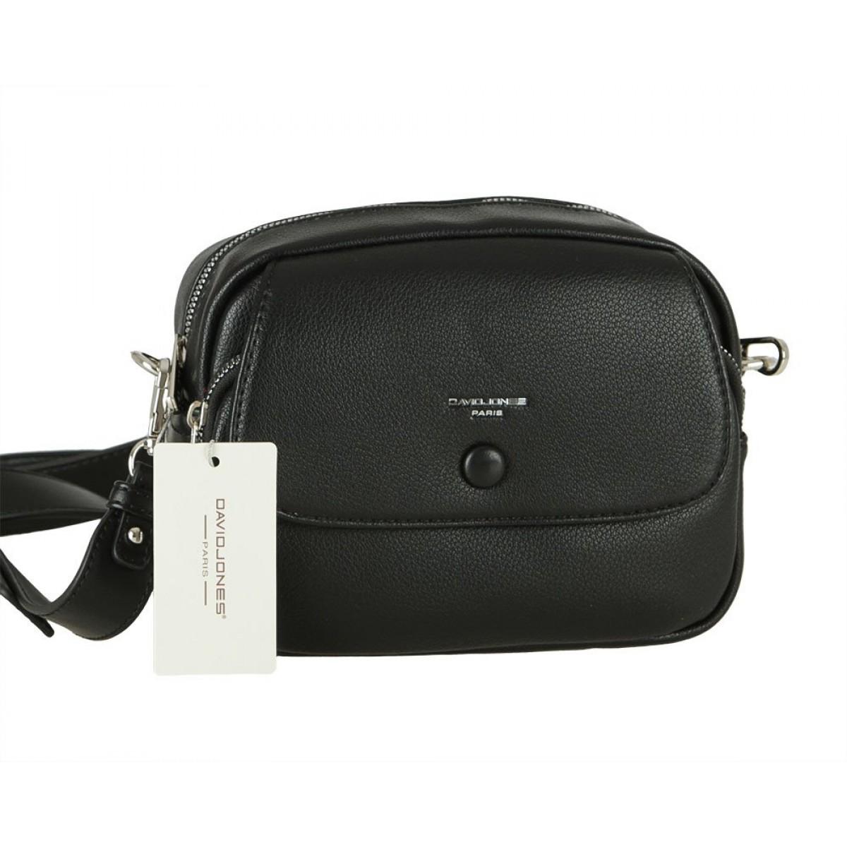 Жіноча сумка David Jones 6428-1 BLACK