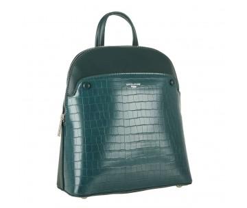 Жіночий рюкзак David Jones 6444-2 D.GREEN