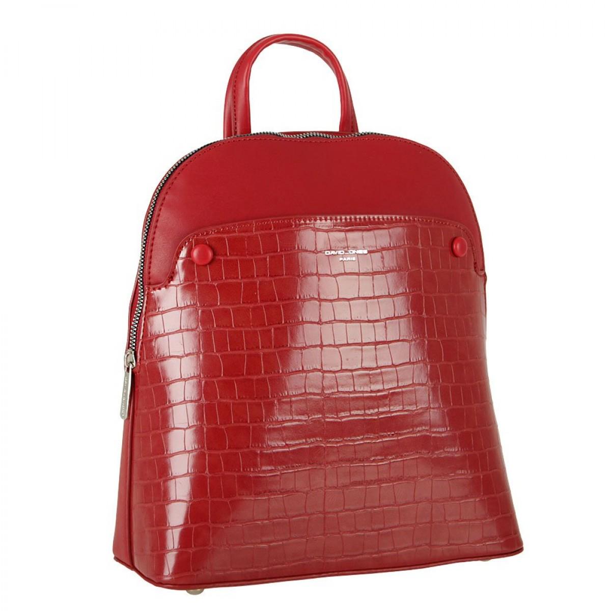 Жіночий рюкзак David Jones 6444-2 DARK RED