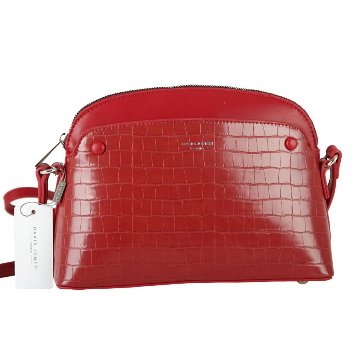 Жіноча сумка David Jones 6444-1 DARK RED