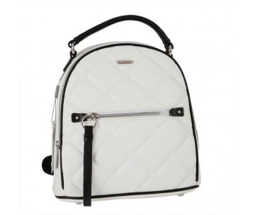 Жіночий рюкзак David Jones 6520-2 CREAMY WHITE
