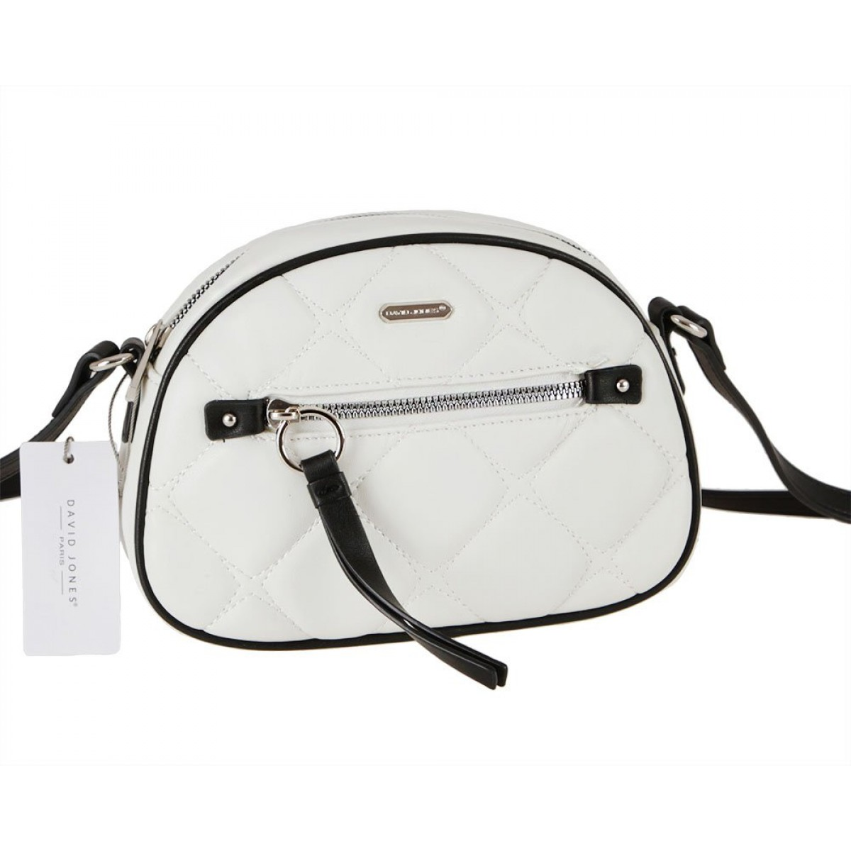 Жіноча сумка David Jones 6520-1 CREAMY WHITE