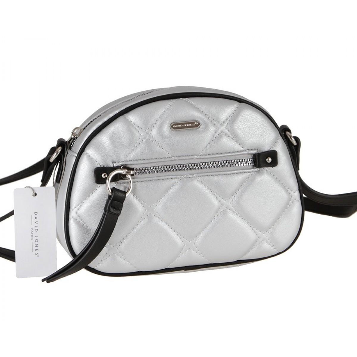 Жіноча сумка David Jones 6520-1 SILVER