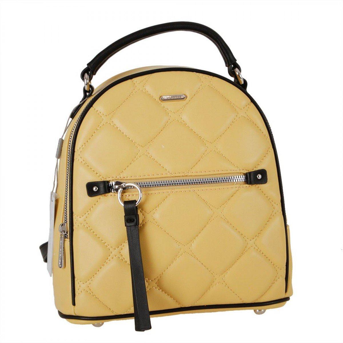 Жіночий рюкзак David Jones 6520-2 FEINT YELLOW