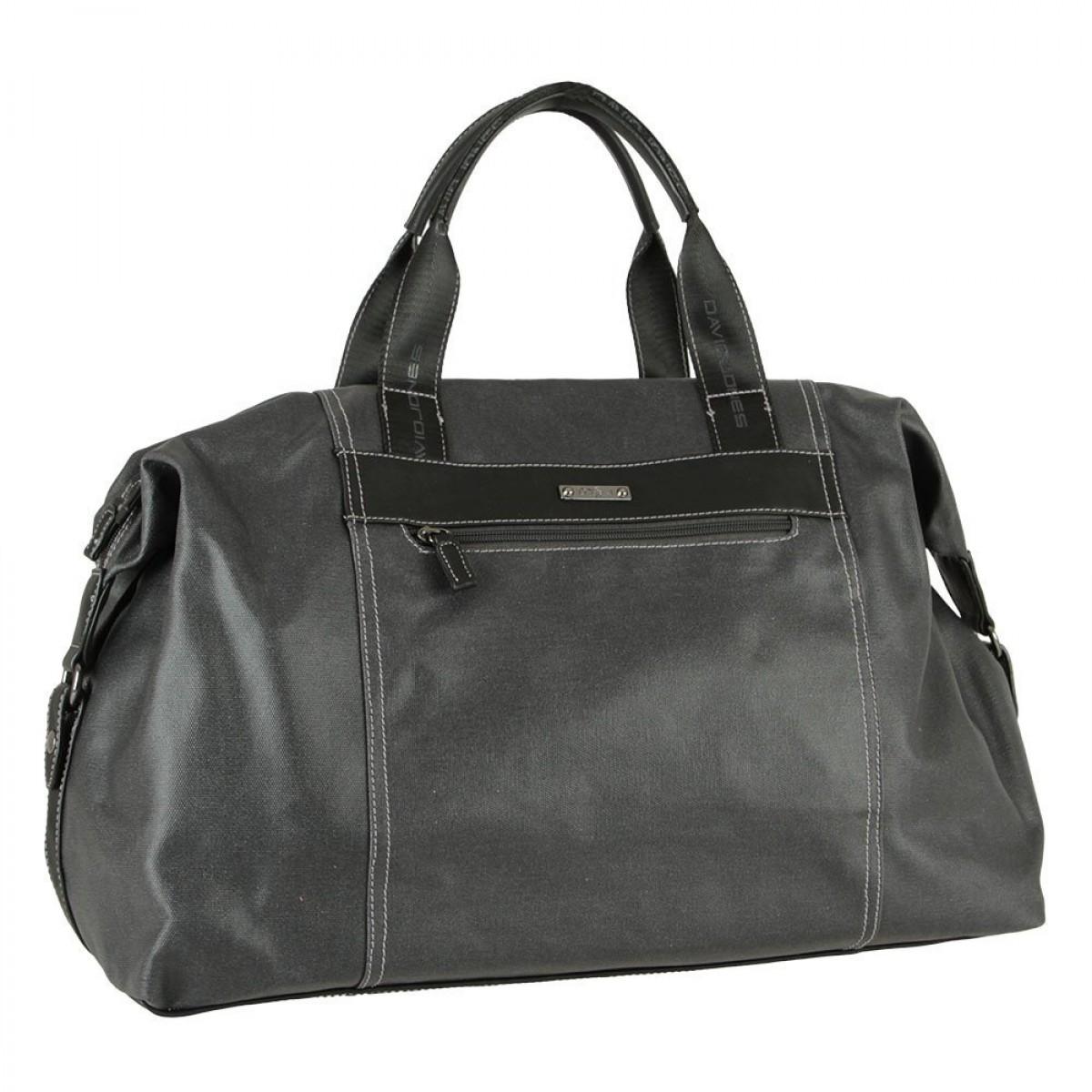 Дорожня сумка David Jones 786603 BLACK/GREY