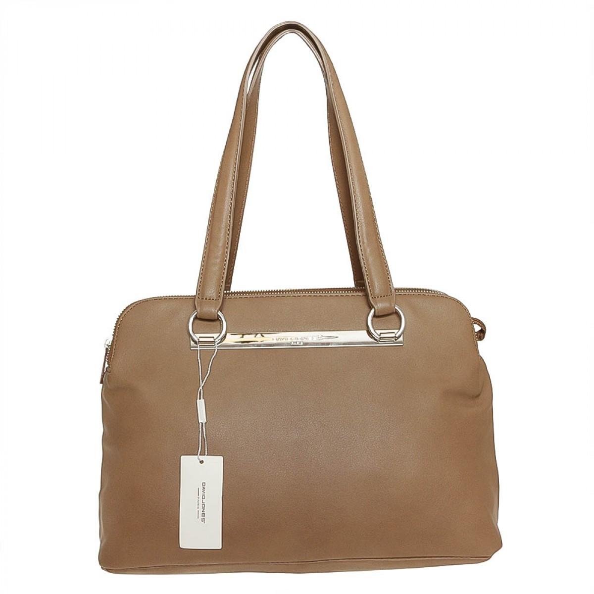 Жіноча сумка David Jones  CM3243 D.CAMEL