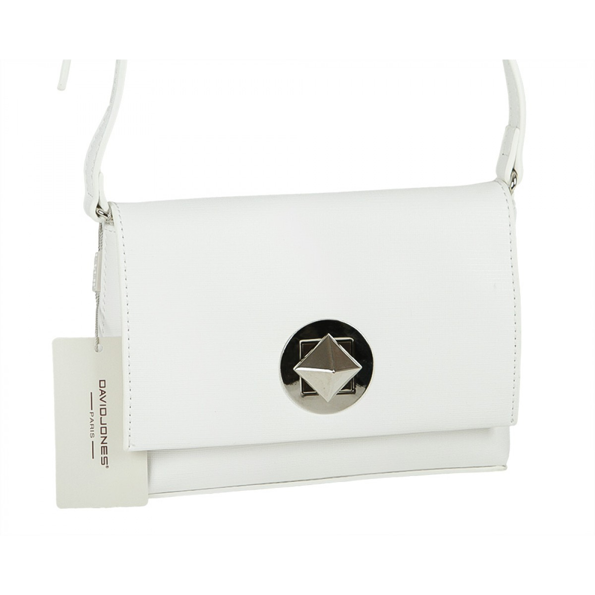 Жіноча сумка David Jones CM3392 WHITE
