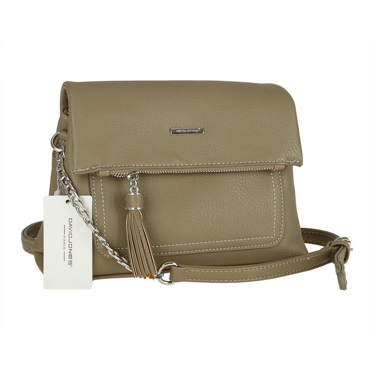 Жіноча сумка David Jones CM3501 KHAKI