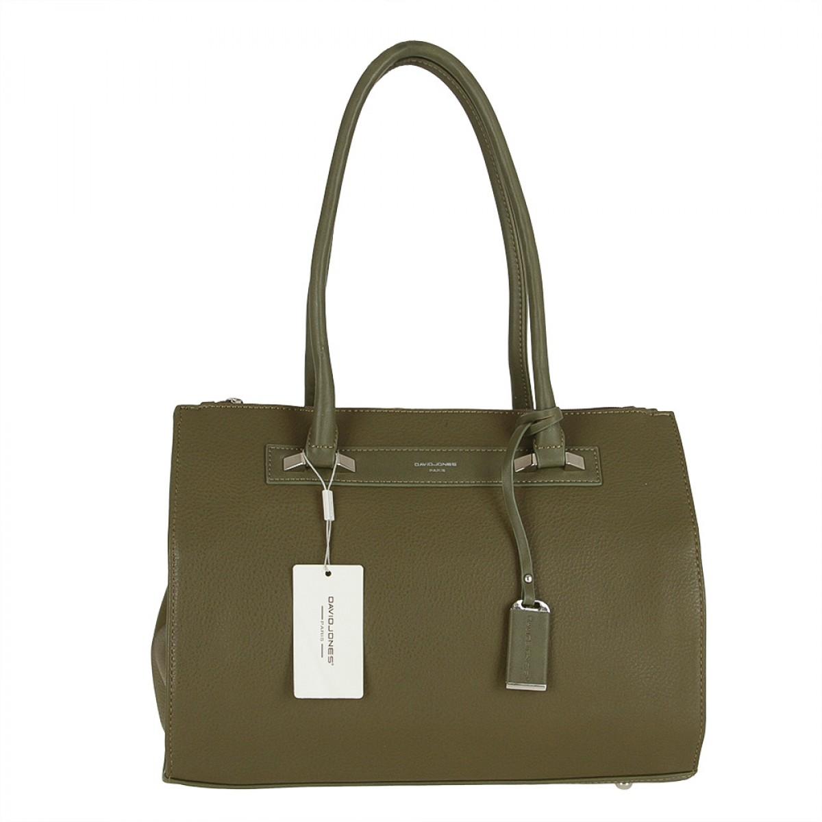 Жіноча сумка David Jones CM3503 KHAKI