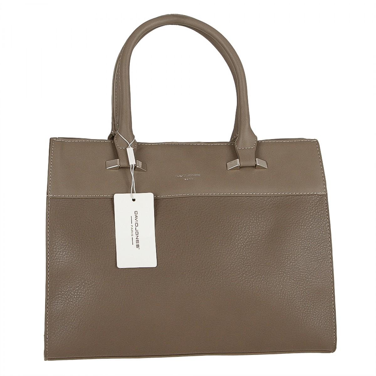 Жіноча сумка David Jones CM3508 D.TAUPE
