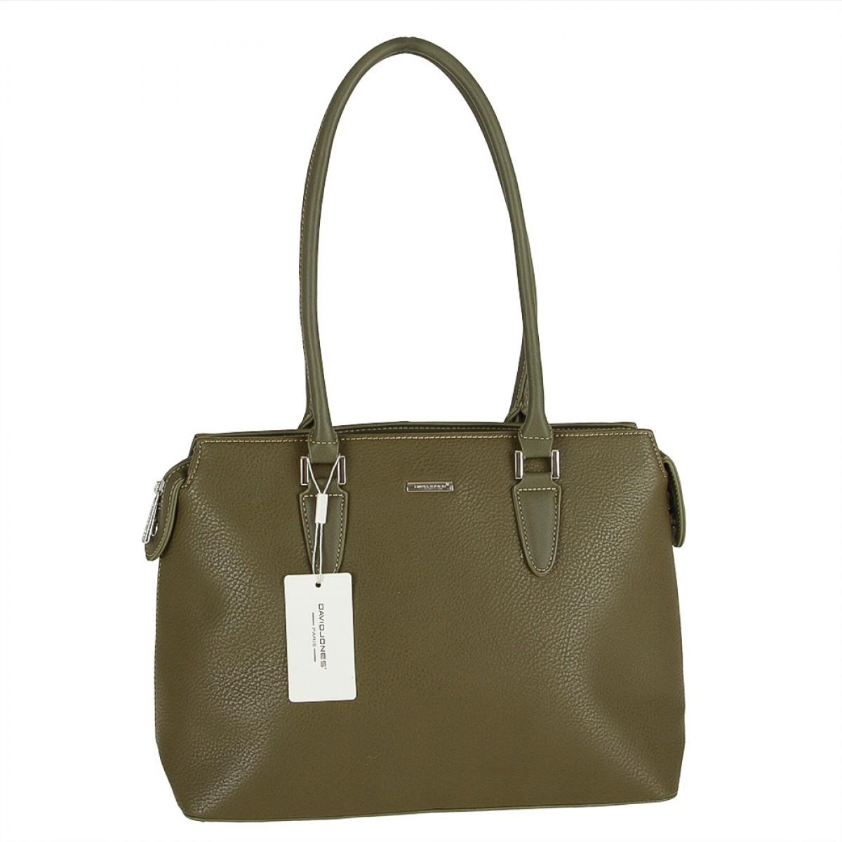 Жіноча сумка David Jones CM3515 KHAKI