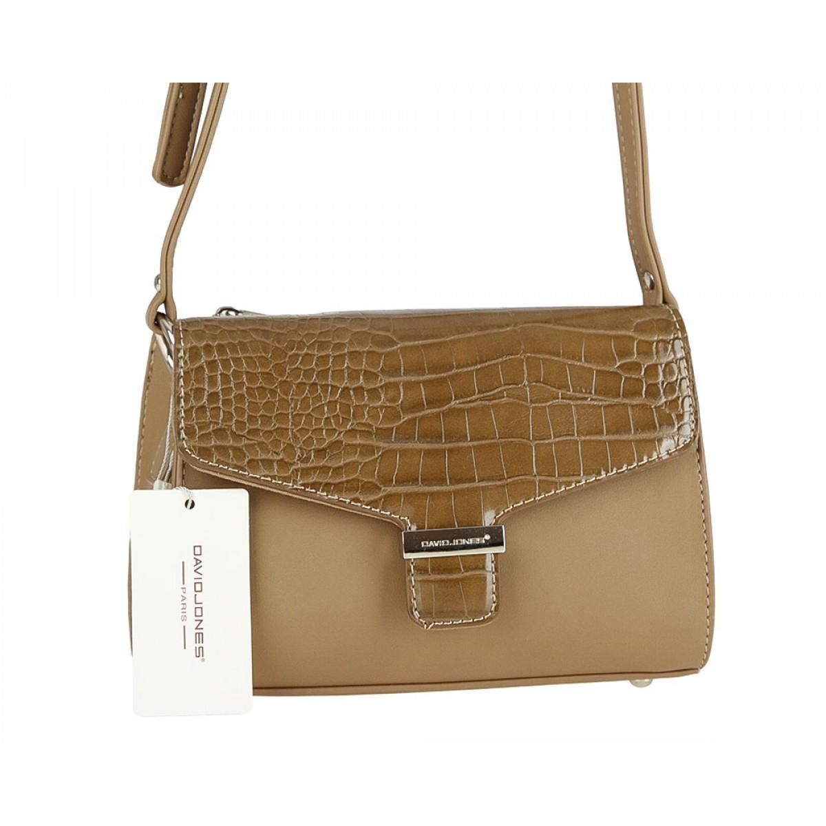 Жіноча сумка David Jones  CM3516 CAMEL