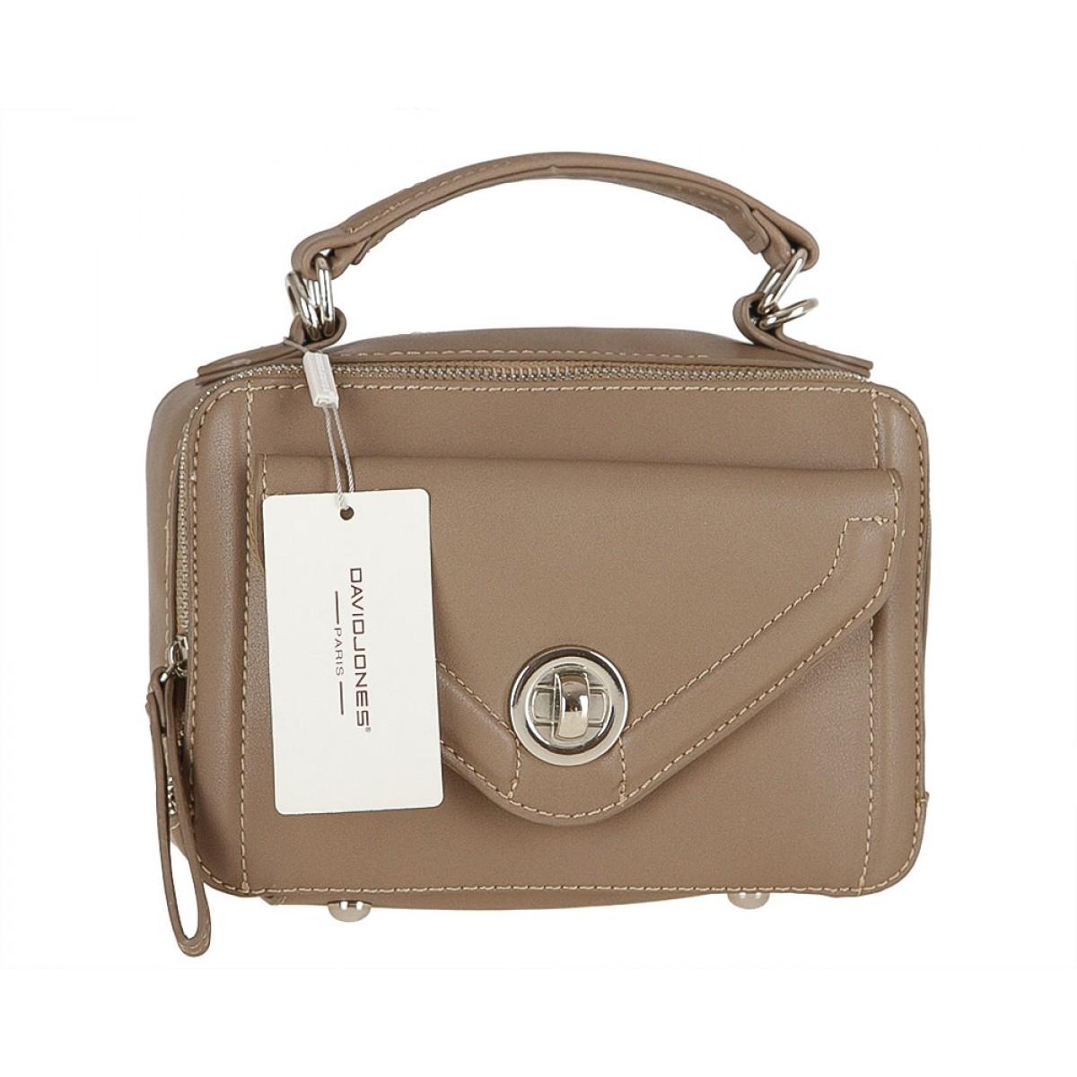 Жіноча сумка David Jones CM3517 D.CAMEL