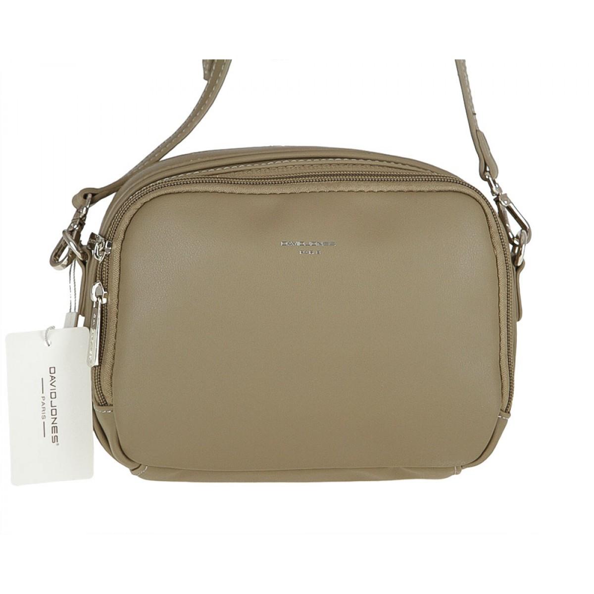 Жіноча сумка David Jones  CM3521 KHAKI