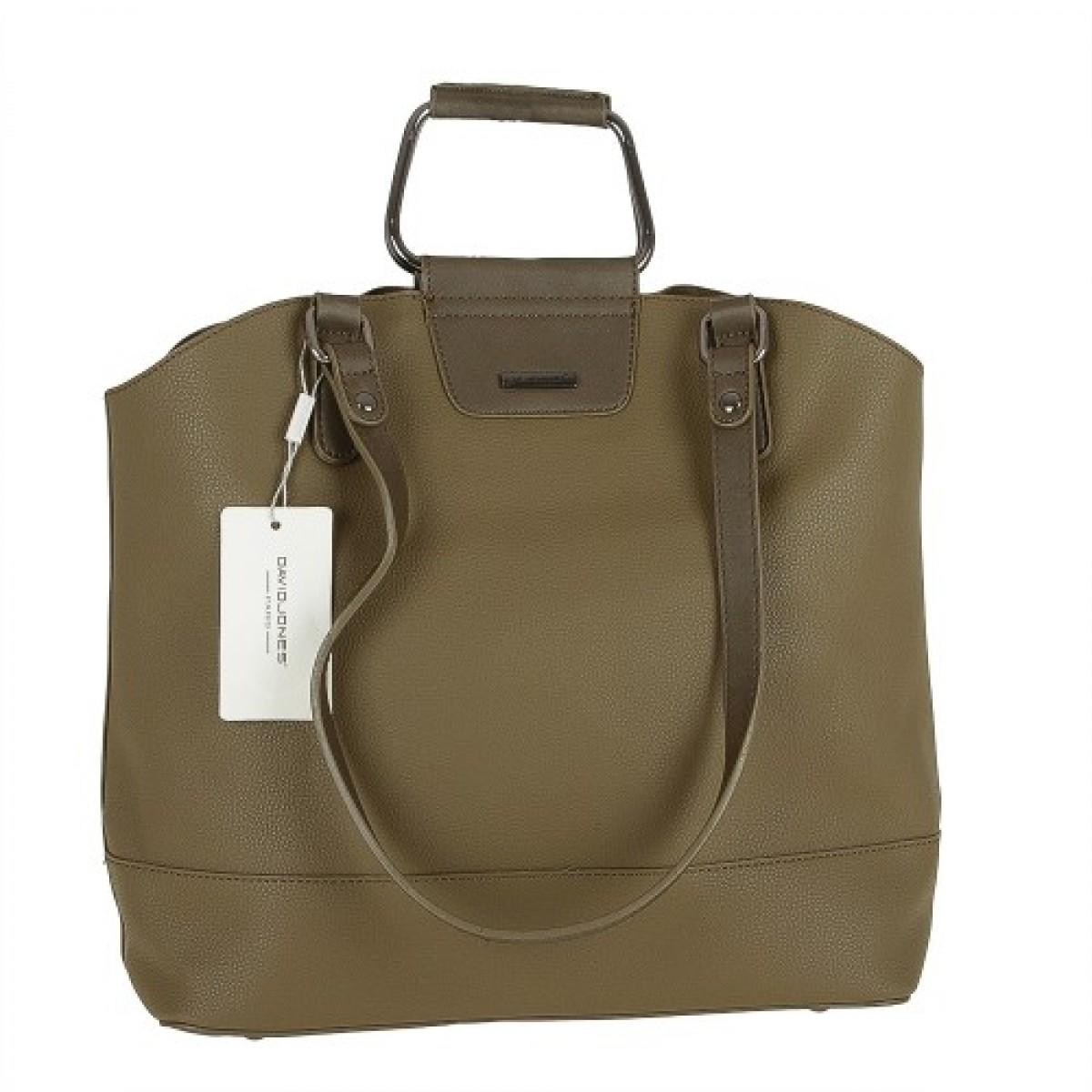 Жіноча сумка David Jones CM3524 KHAKI