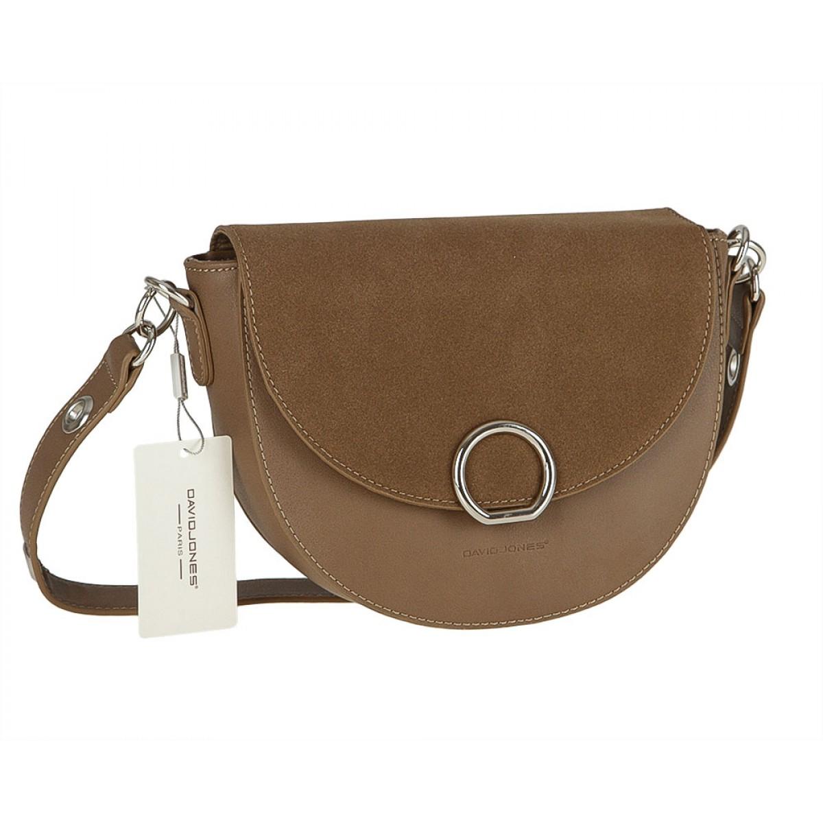 Жіноча сумка David Jones CM3533 D.CAMEL