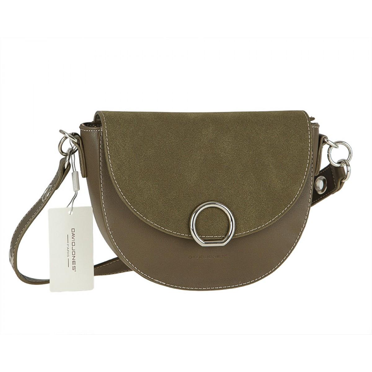 Жіноча сумка David Jones CM3533 D.KHAKI