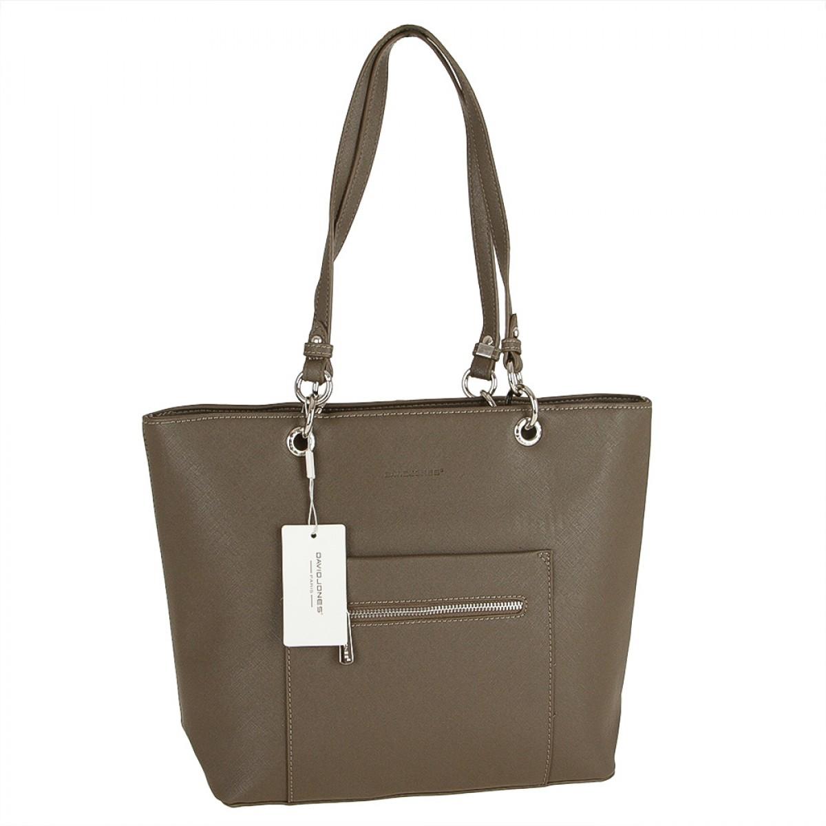 Жіноча сумка David Jones CM3560 D.KHAKI