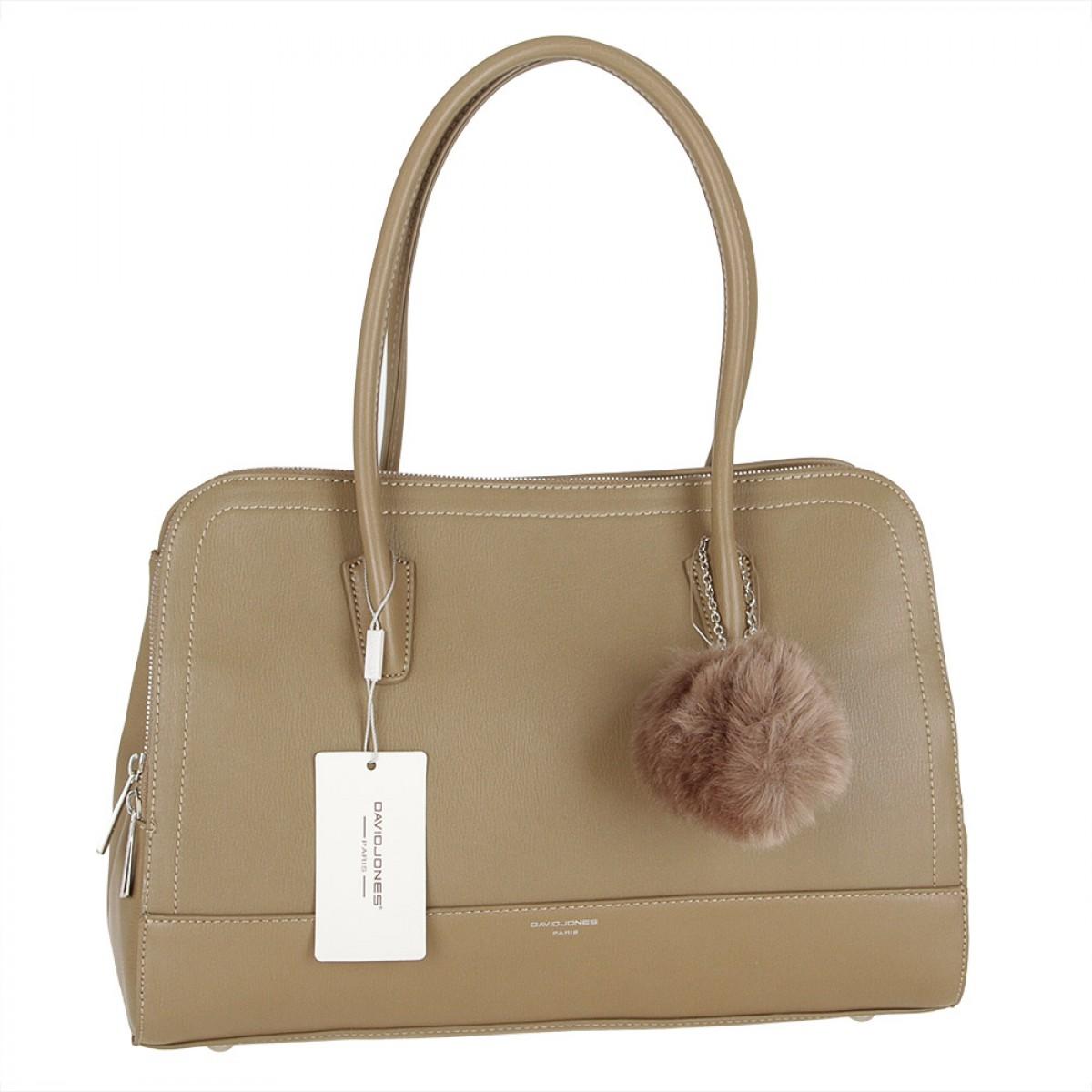 Жіноча сумка David Jones CM3562 KHAKI