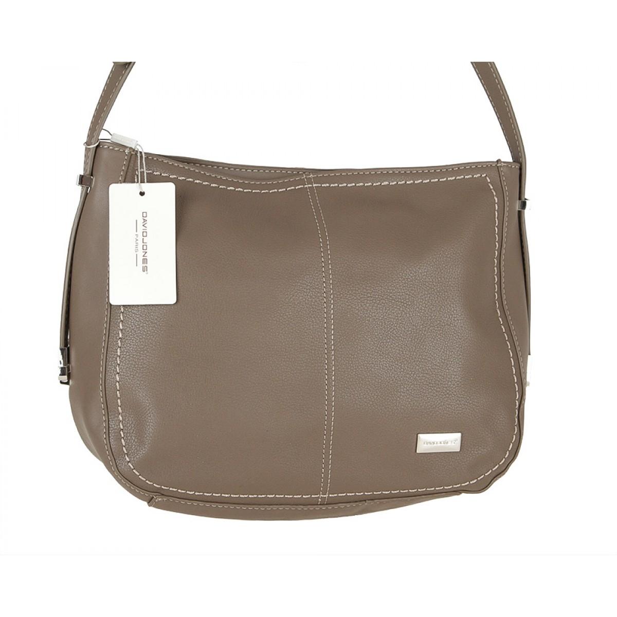 Жіноча сумка David Jones CM3593 D.TAUPE
