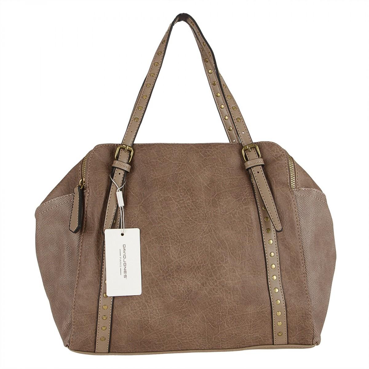 Жіноча сумка David Jones CM3621 D.CAMEL