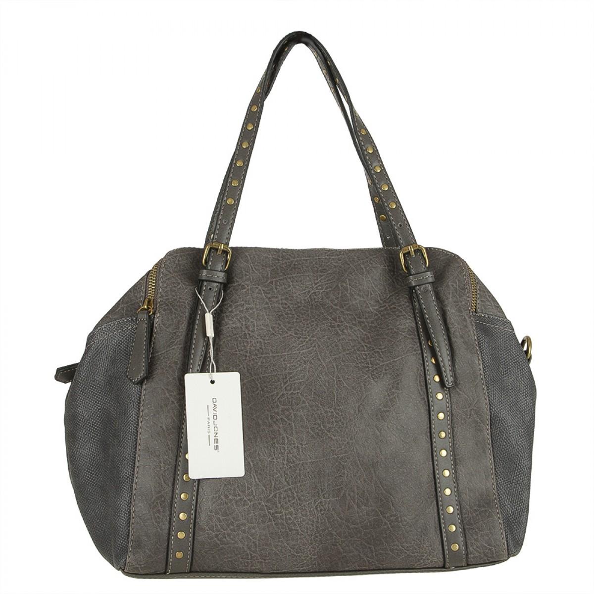 Жіноча сумка David Jones CM3621 D.GREY