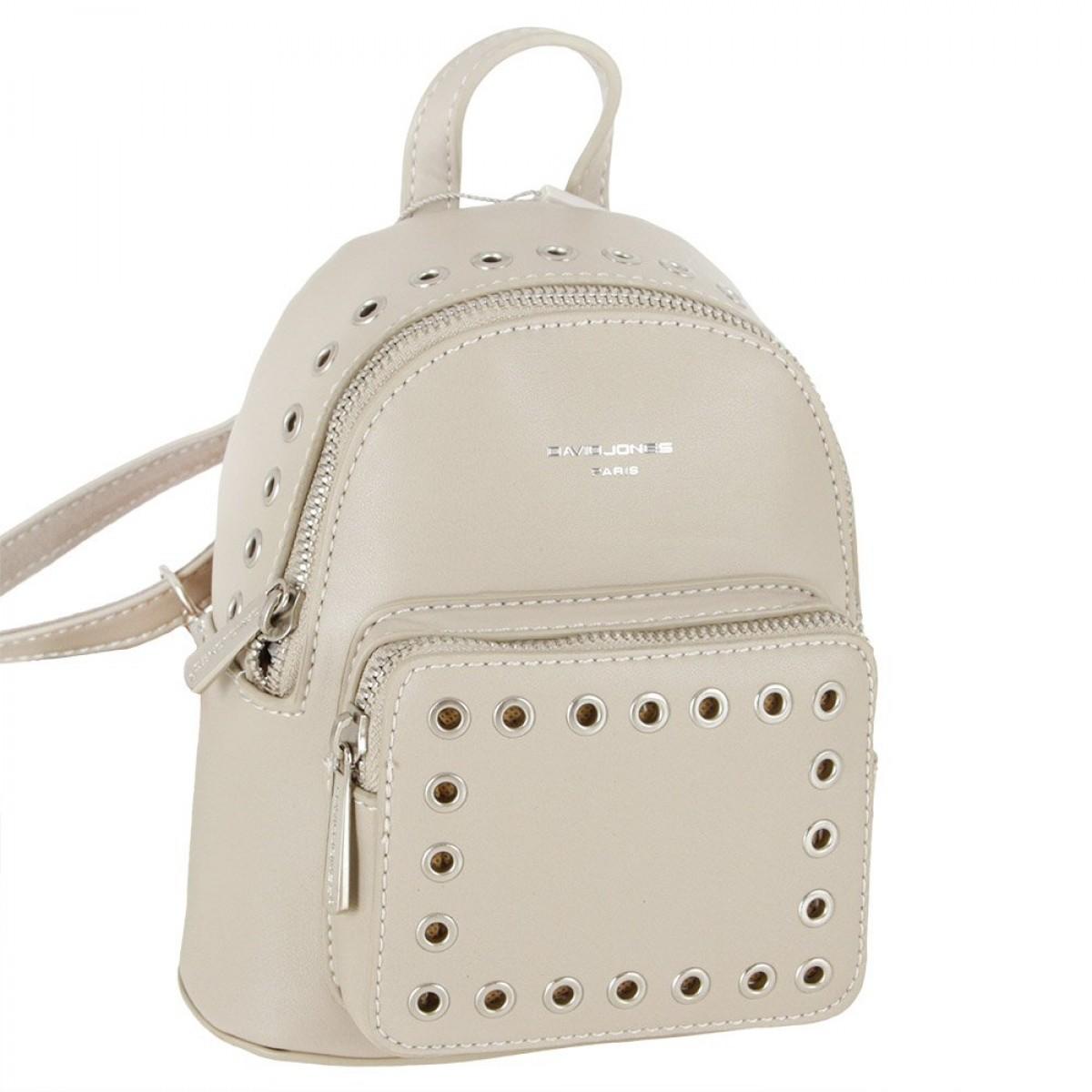Жіночий рюкзак David Jones CM3717 D.BEIGE