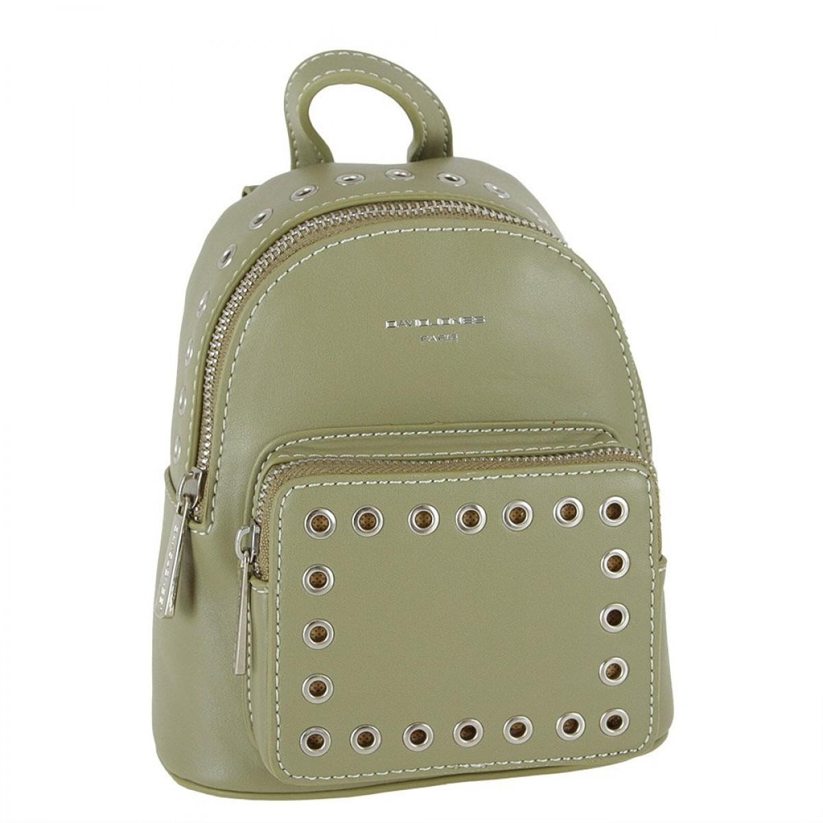 Жіночий рюкзак David Jones CM3717 KHAKI
