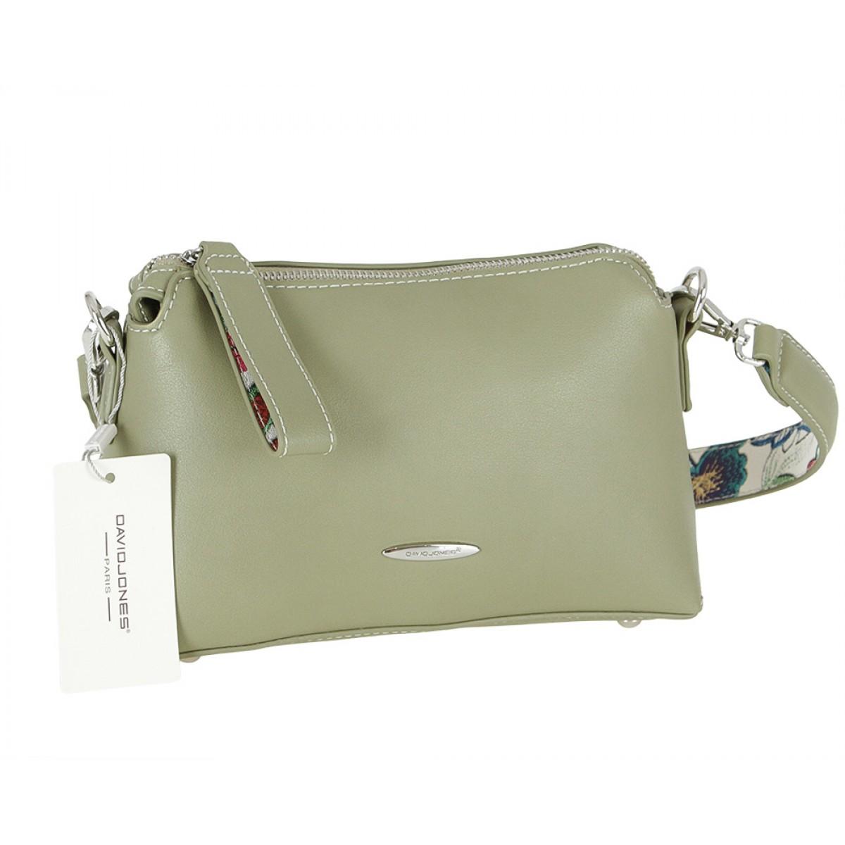 Жіноча сумка David Jones CM3774 KHAKI