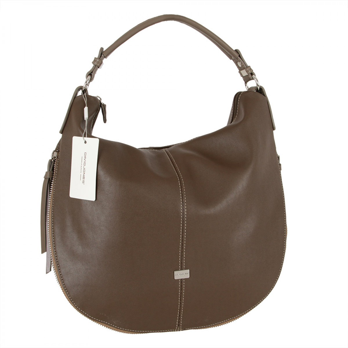 Жіноча сумка David Jones CM3915 D.TAUPE