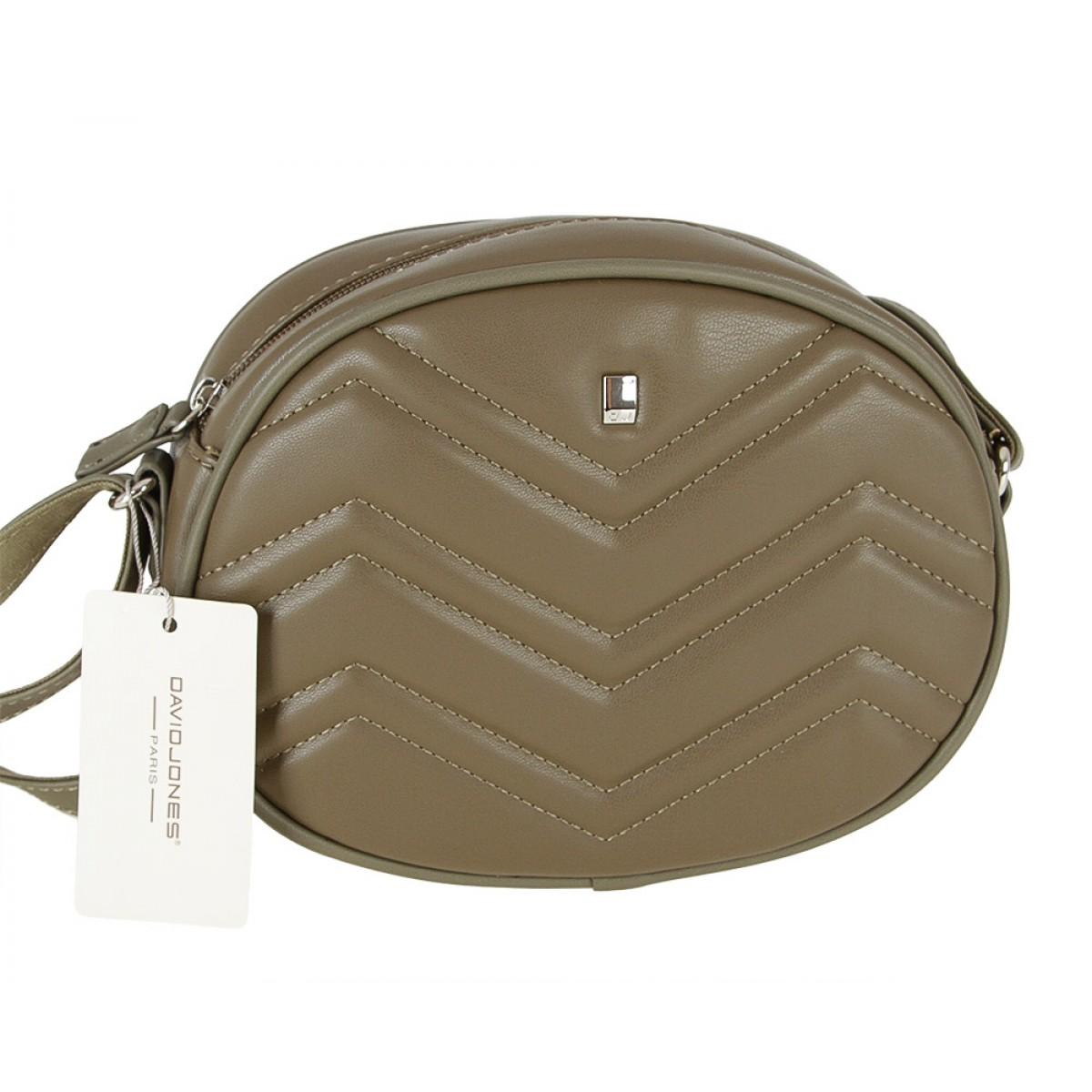 Жіноча сумка David Jones CM4005 KHAKI