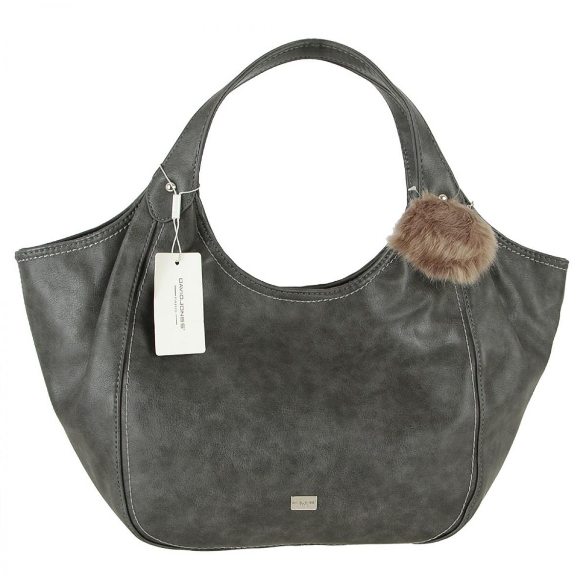 Жіноча сумка David Jones CM4072 GREY