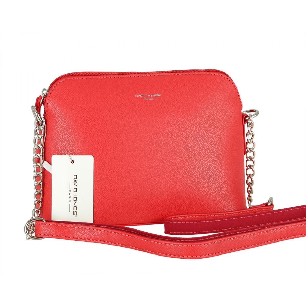 Жіноча сумка David Jones CM5007 RED