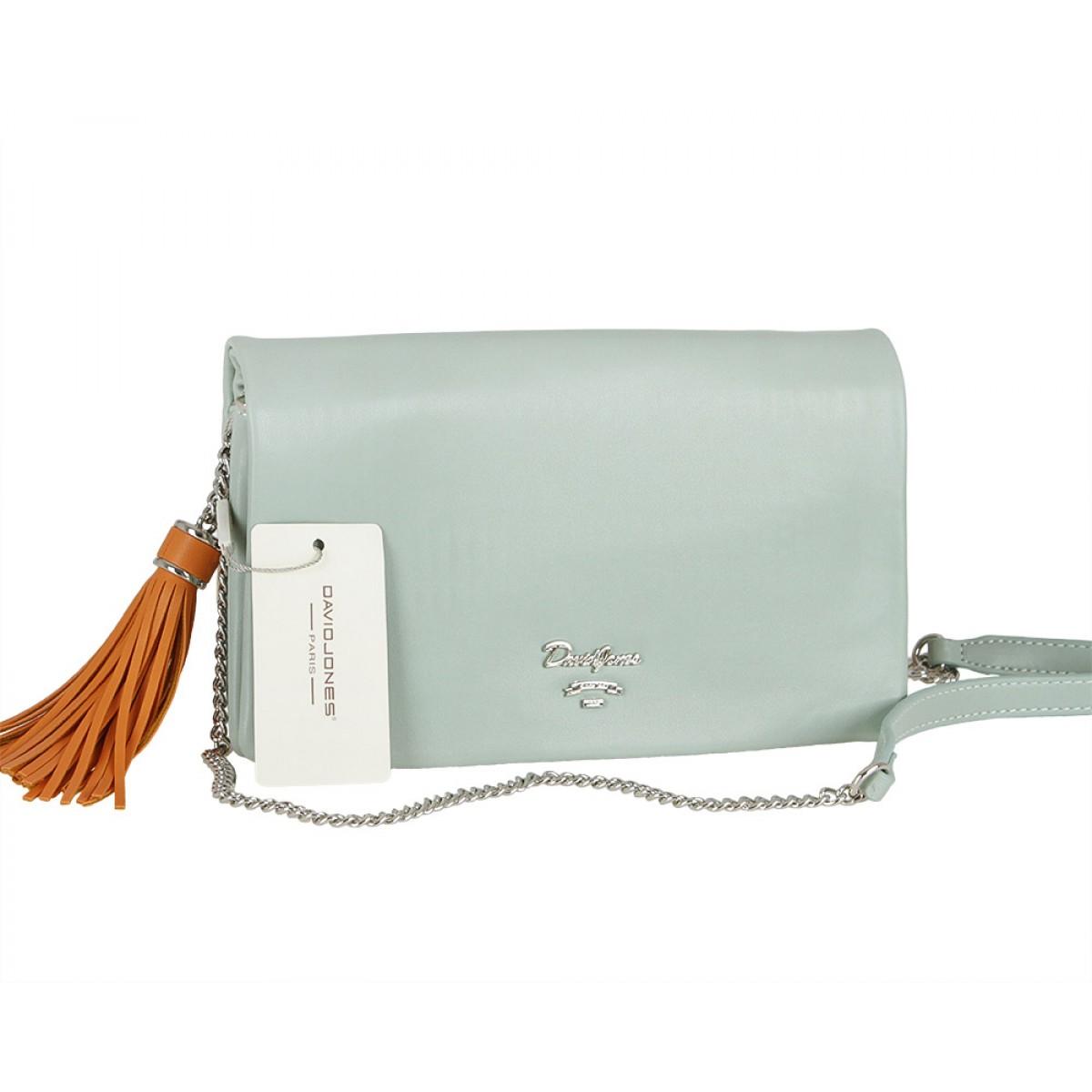 Жіноча сумка David Jones CM5019 APPLE GREEN