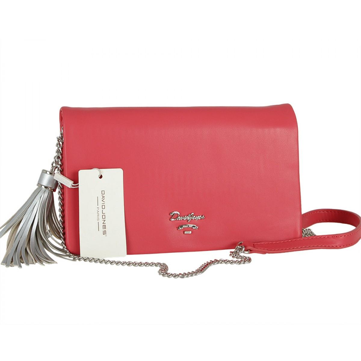 Жіноча сумка David Jones CM5019 RED