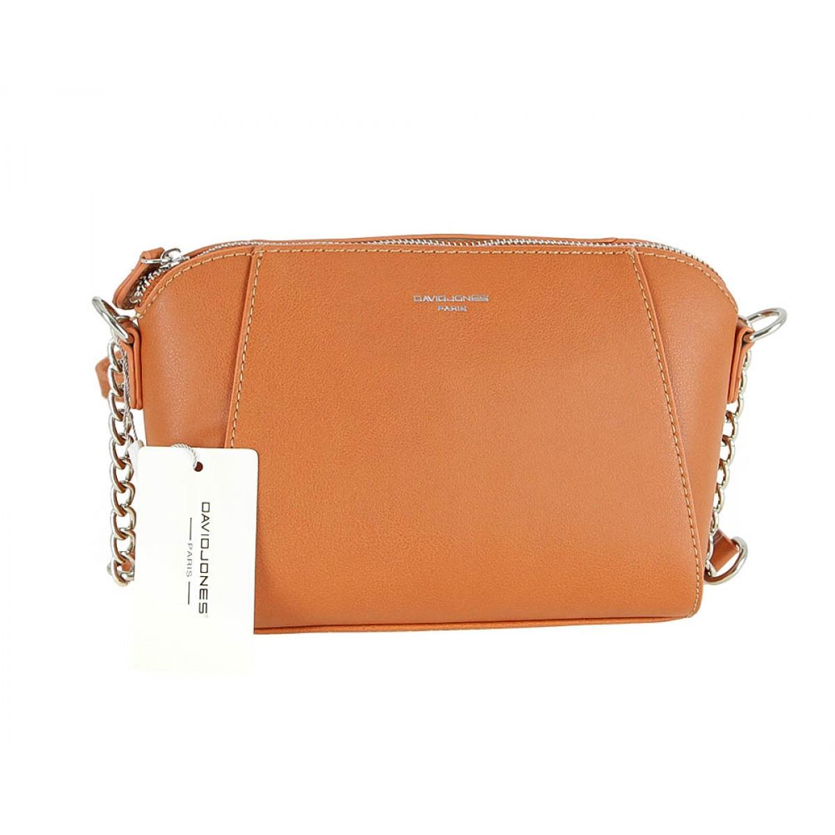 Жіноча сумка David Jones CM5024 COGNAC
