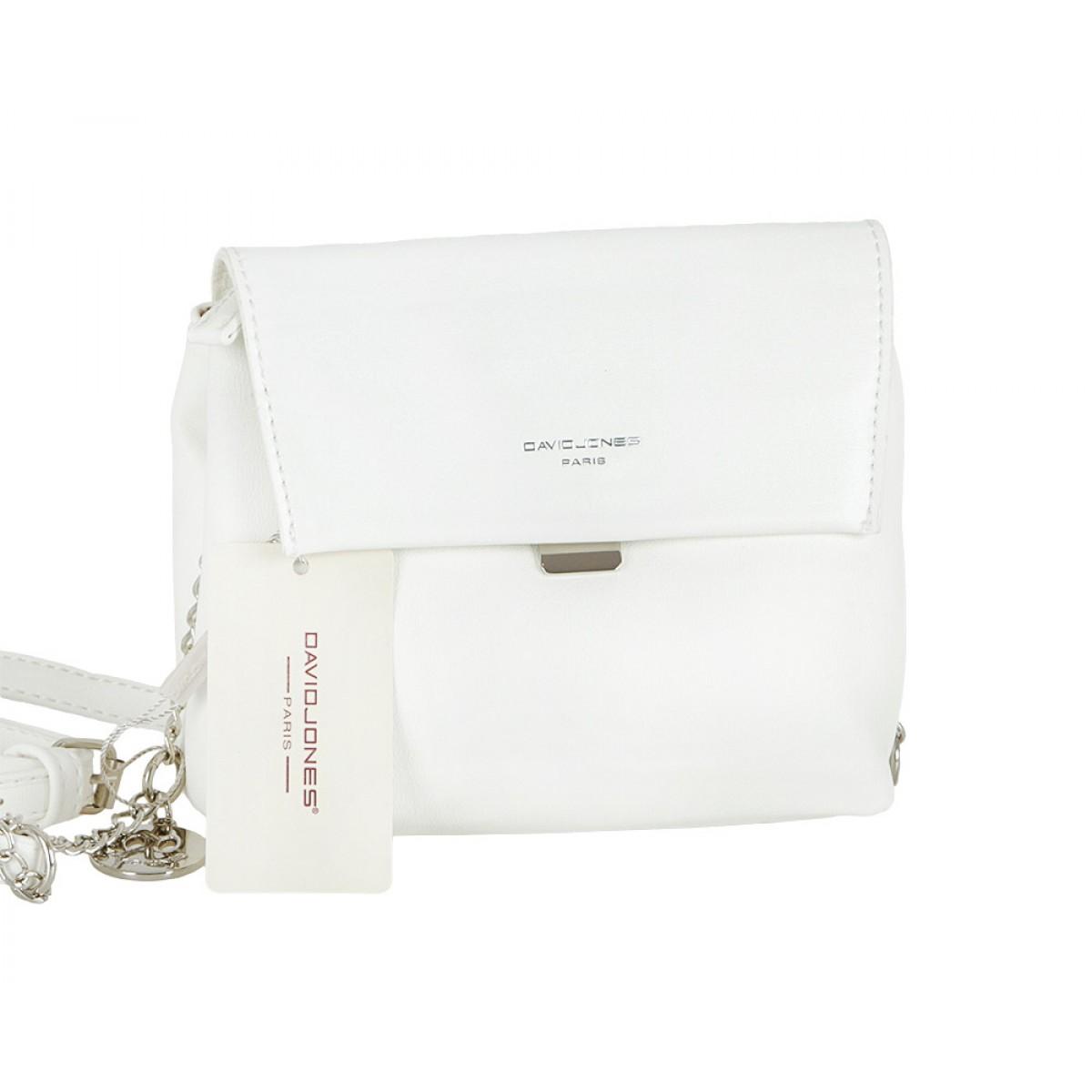 Жіноча сумка David Jones CM5027 WHITE