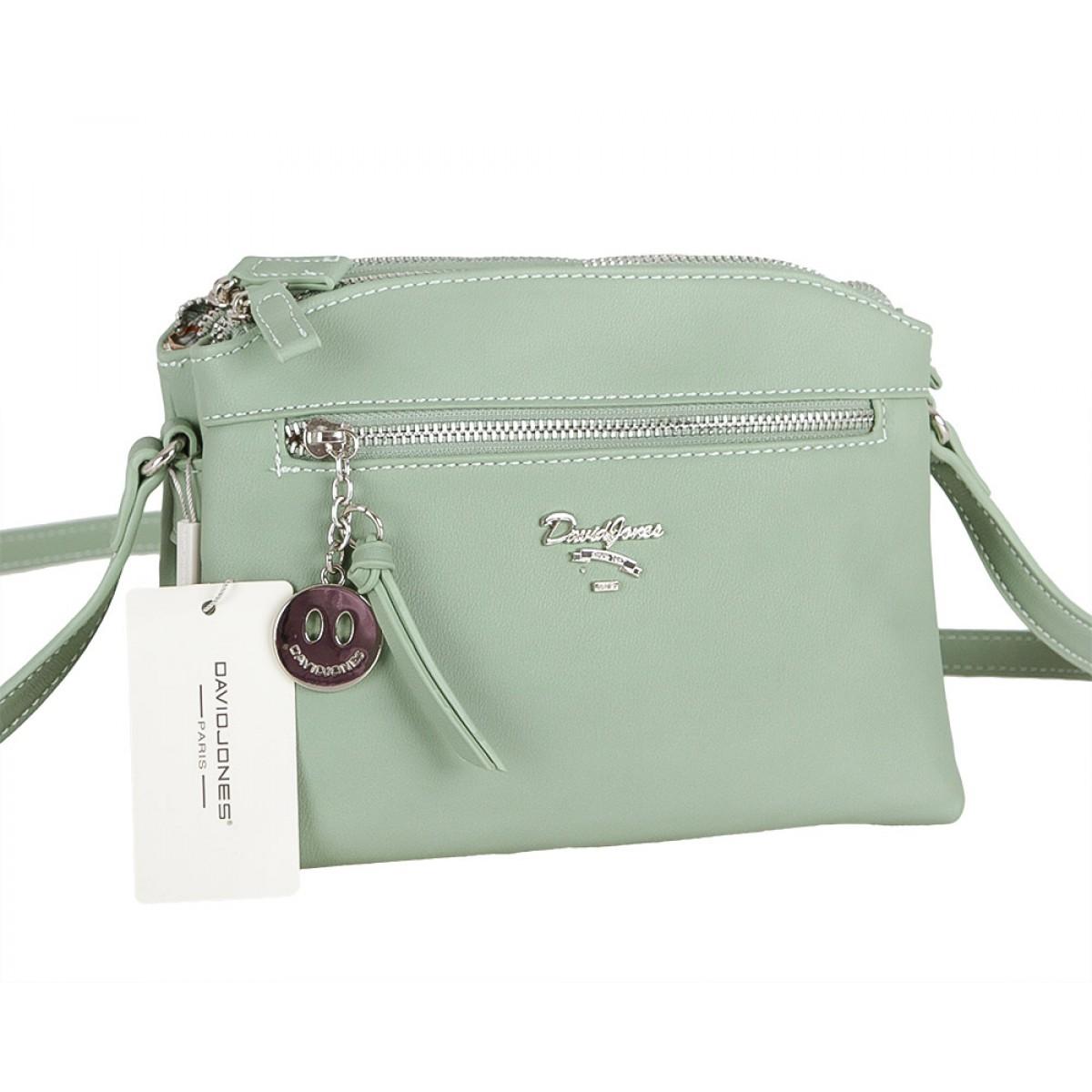 Жіноча сумка David Jones CM5049 APPLE GREEN