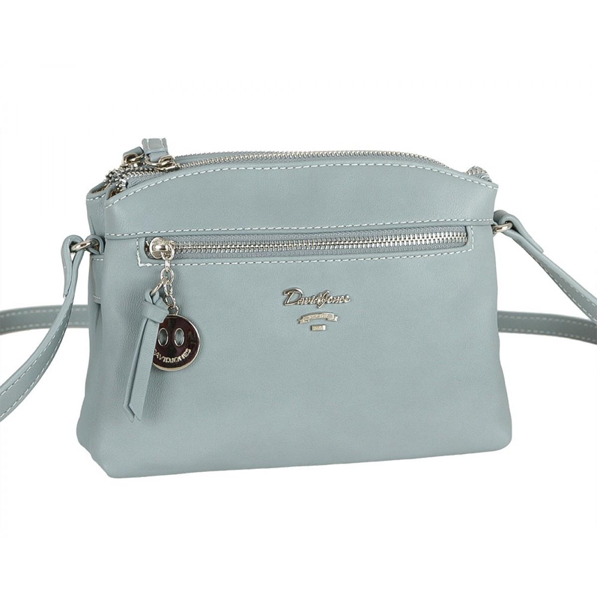 Жіноча сумка David Jones CM5049 L.BLUE