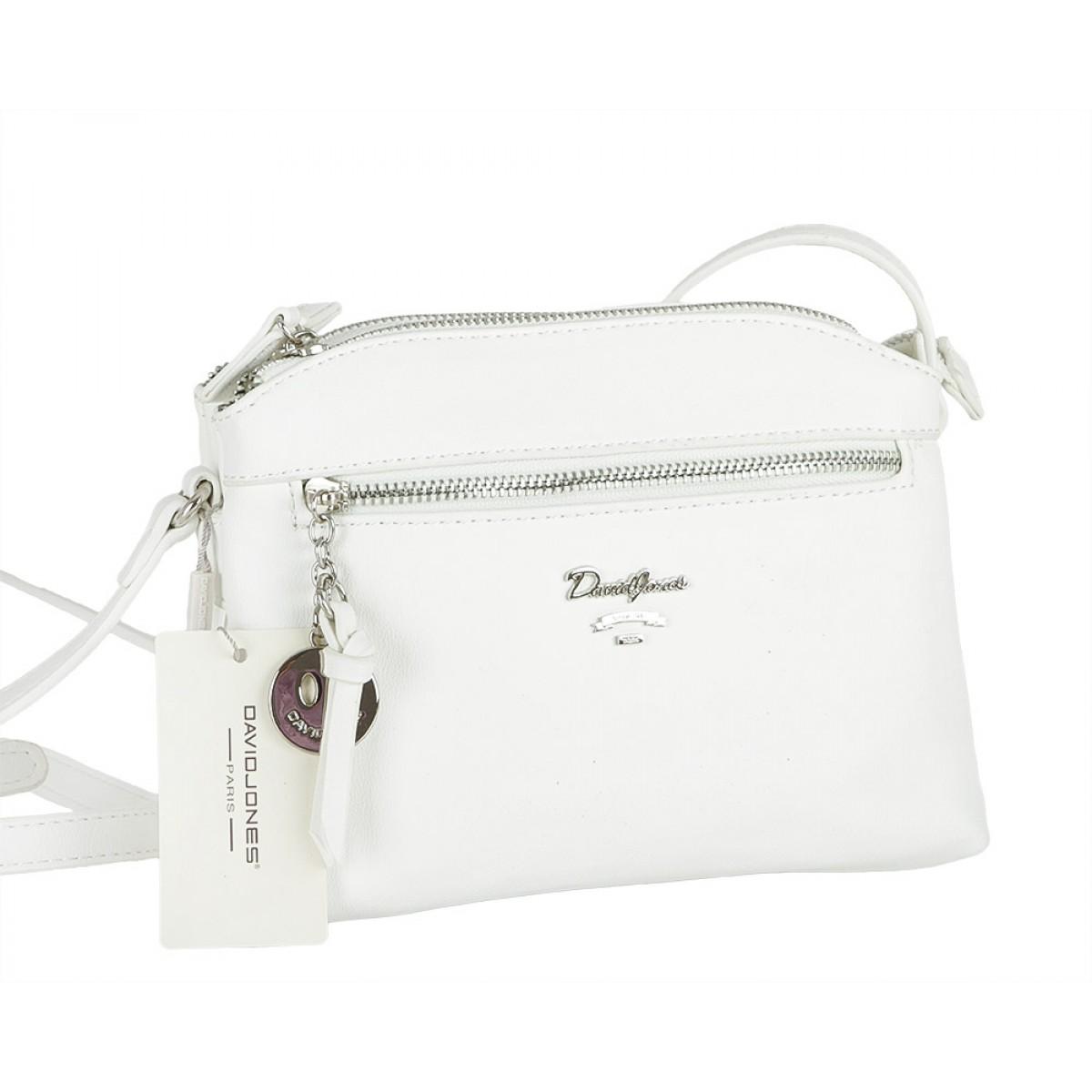 Жіноча сумка David Jones CM5049 WHITE