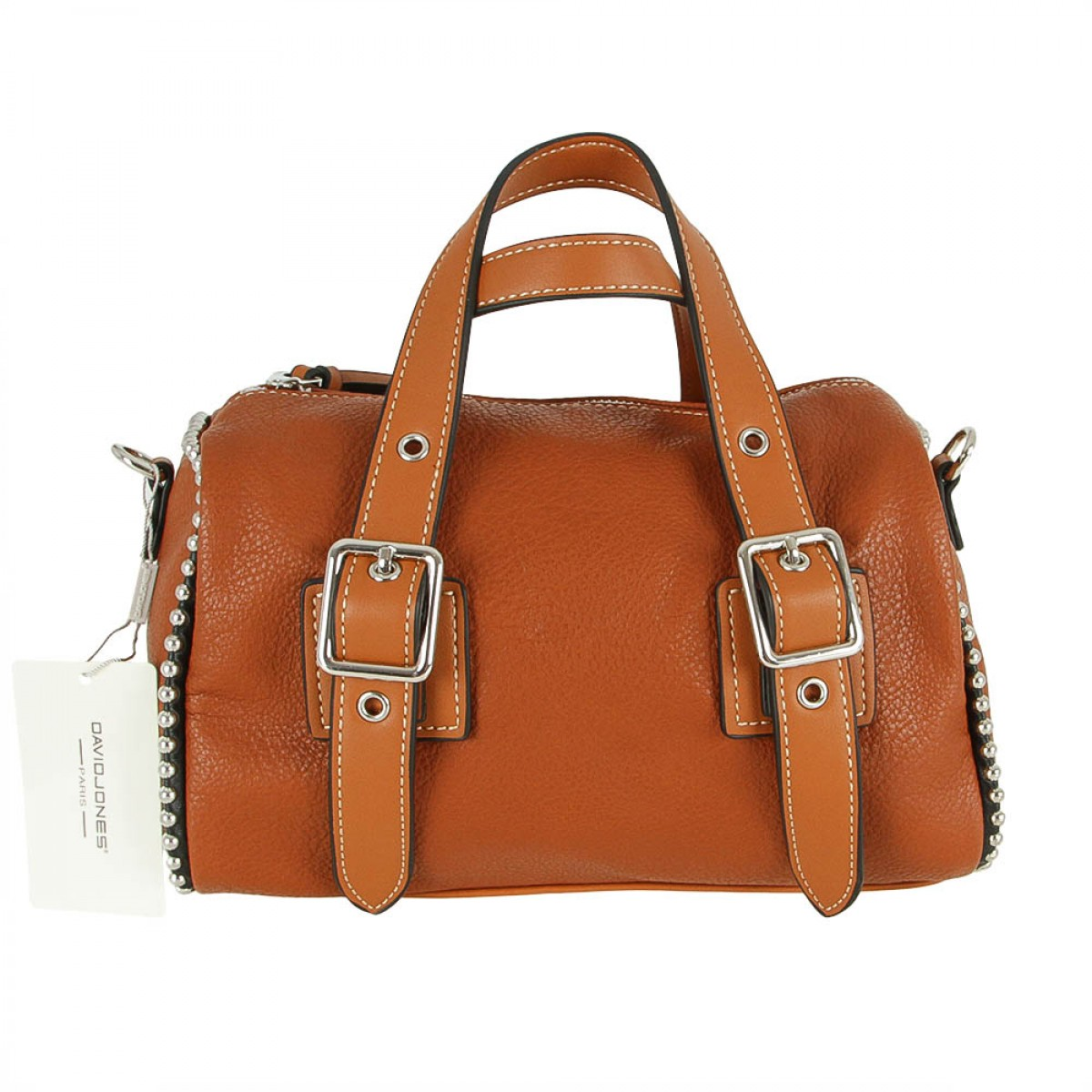 Жіноча сумка David Jones CM5064 COGNAC