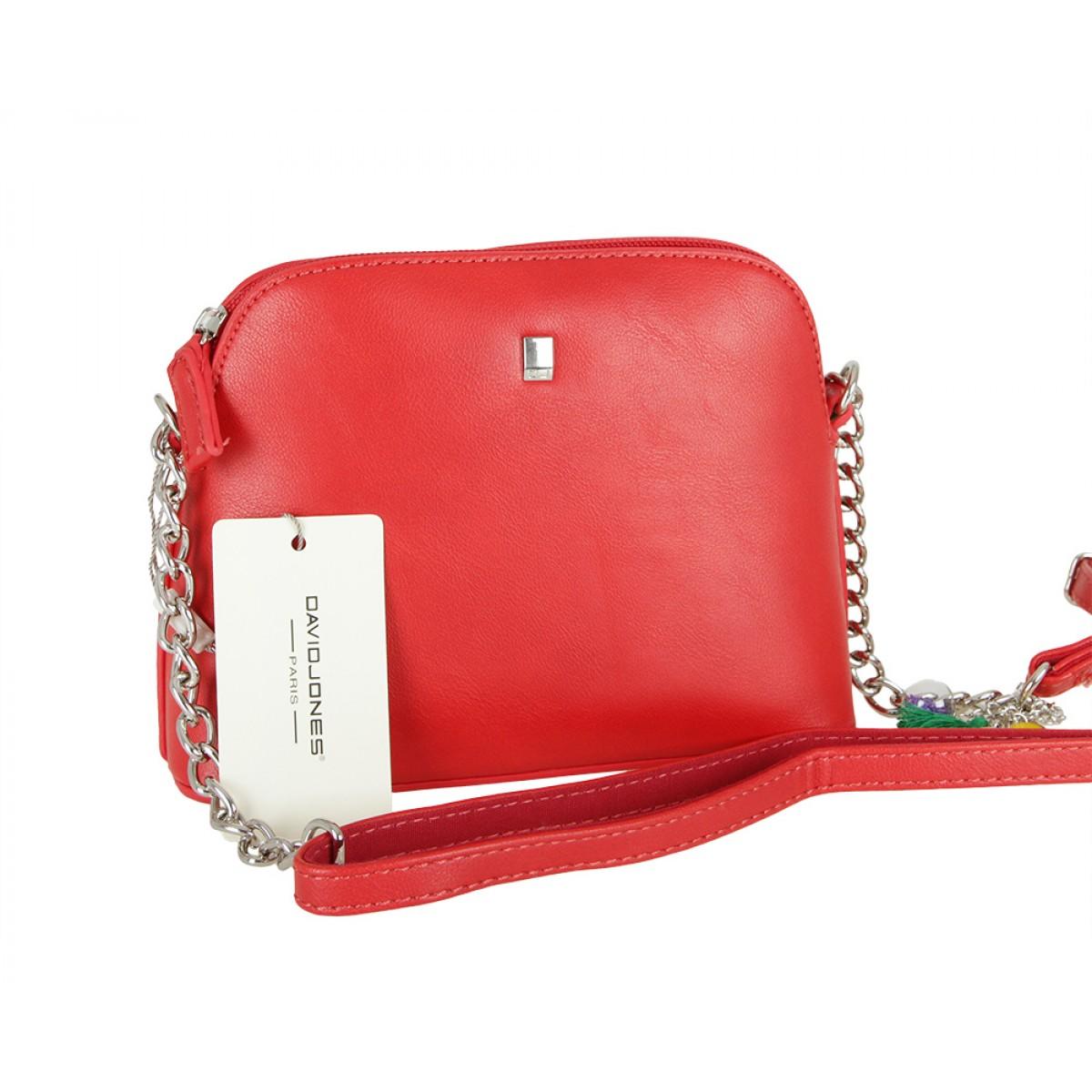 Жіноча сумка David Jones CM5077 RED